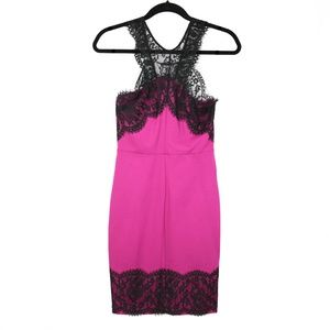 Guess Los Angeles Hot Pink Cocktail Dress